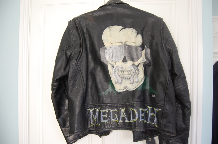 The jacket I wore during my latter high school years!
