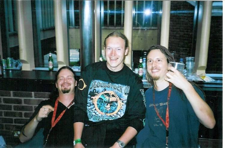 Evergrey - Tom Englund & Rikard Zander