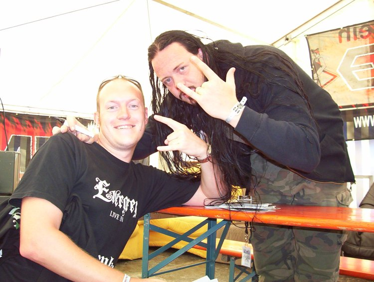 Tom & I at Bang Your Head Festival 2007