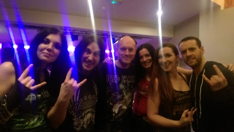 The Man Of Much Metal meets Triaxis!