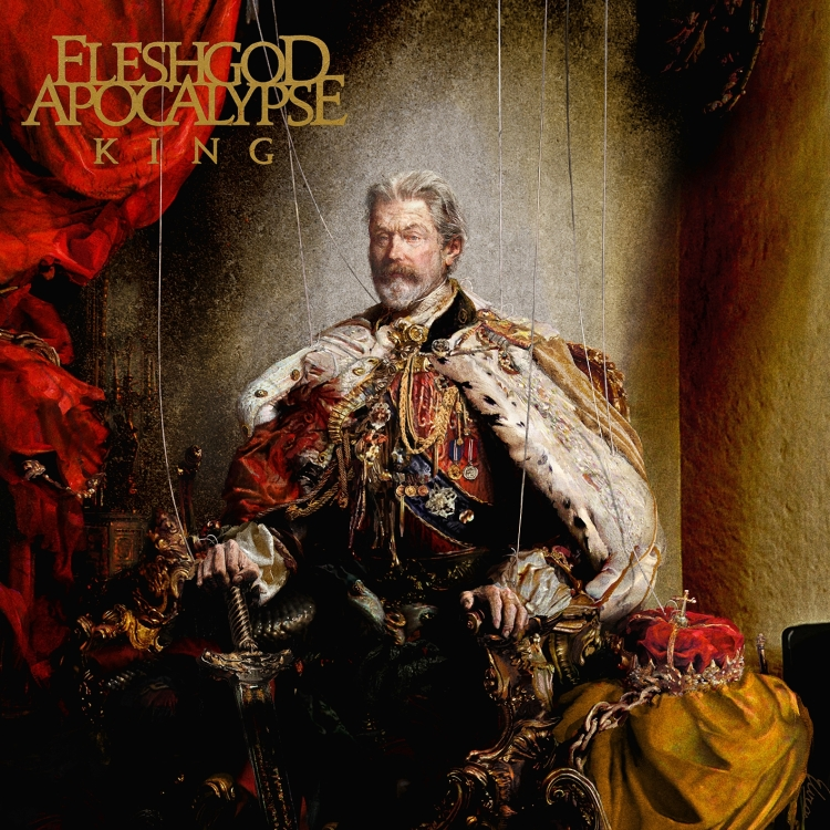 Fleshgod Apocalypse - King - Artwork