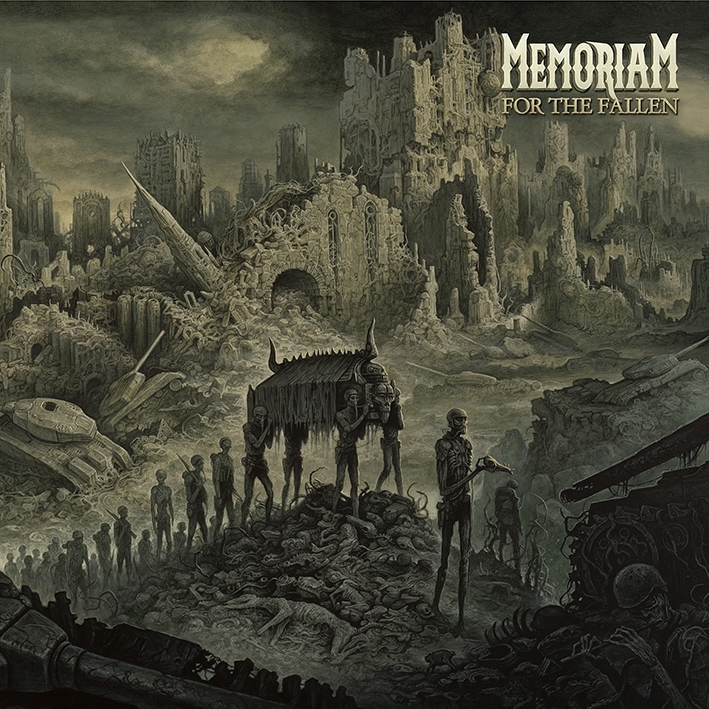 Memoriam - For The Fallen - Artwork