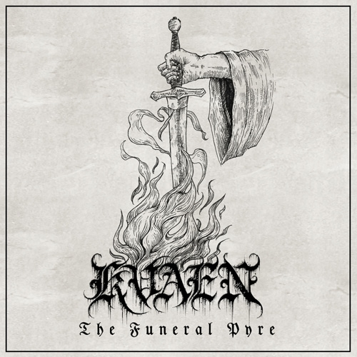 Kvaen - The Funeral Pyre - Artwork